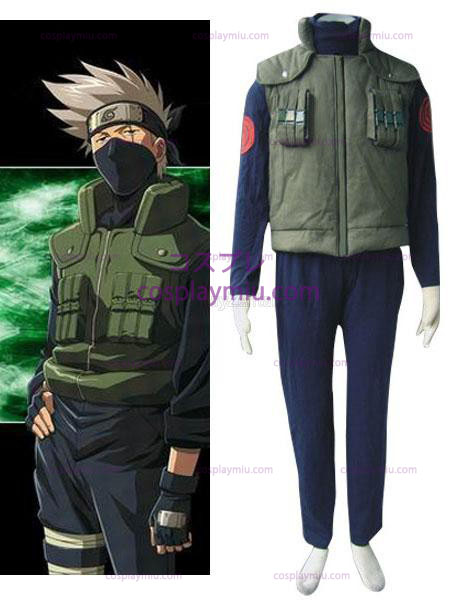 Naruto Possèdeake Kakashi Hidden leaf village of Konoha Jounins Cosplay Uniform