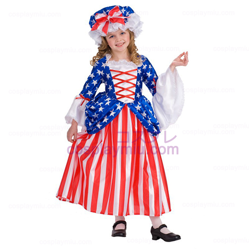 Deluxe Betsy Ross Child Déguisements