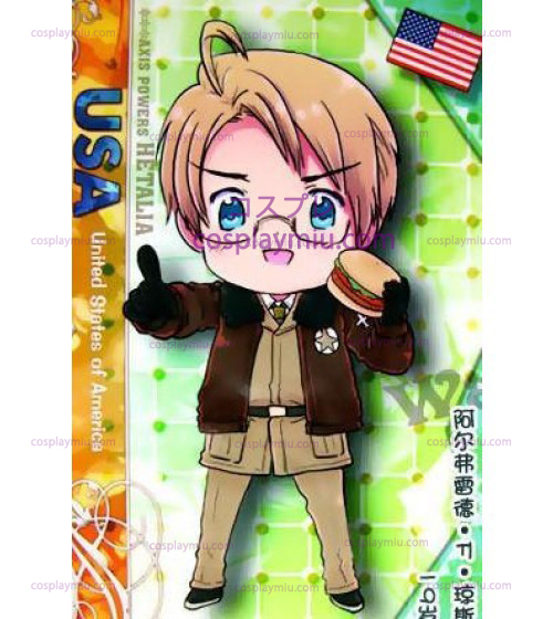 America Déguisements Cosplay from Axis Powers Hetalia