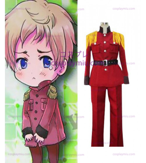 Hetalia: Axis Powers Latvia Halloween Red Déguisements Cosplay