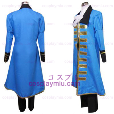 Hetalia Axis Powers Blue France Déguisements Cosplay
