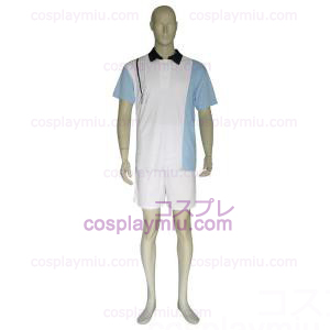 The Prince Of Tennis Hyotei Gakuen Light Blue and White Déguisements Cosplay