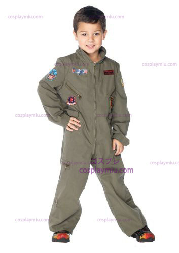 Top Gun Flight Suit Kids Déguisements