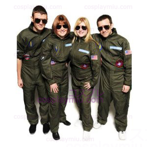 Top Gun Déguisements Party Flight Suit