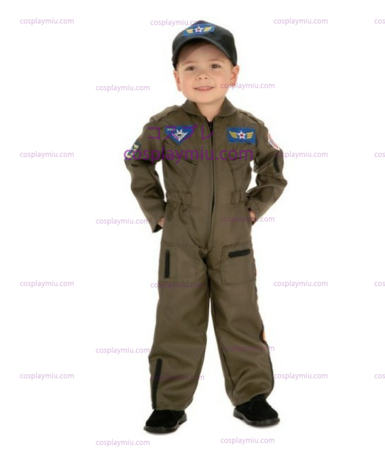 Kid Air Force Fighter Pilot Top Gun Déguisements Halloween
