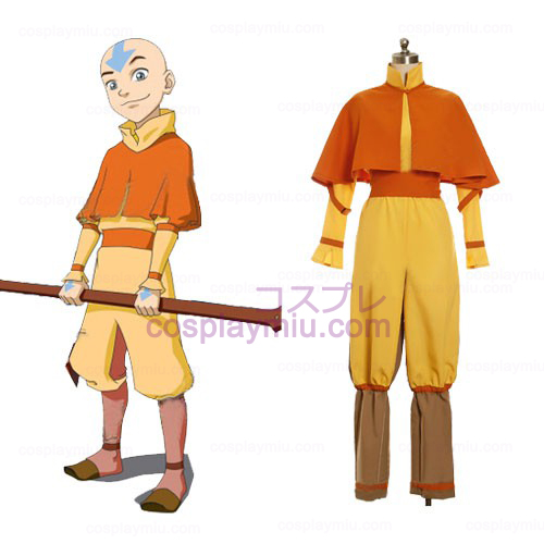Avatar The Last Airbender Cosplay Aang Déguisements