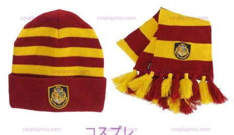 Harry Potter Hogwart's Knit Possède And Scarf Set