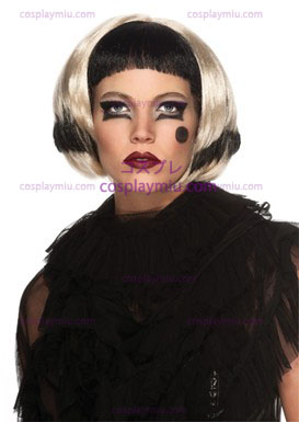 Lady Gaga Black/Blonde Wig