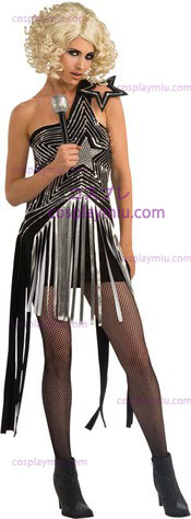 Lady Gaga Star Dress Adult