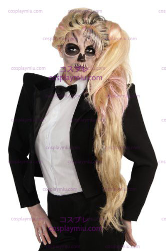 Lady Gaga Side Ponytail Wig (Adult) Adult