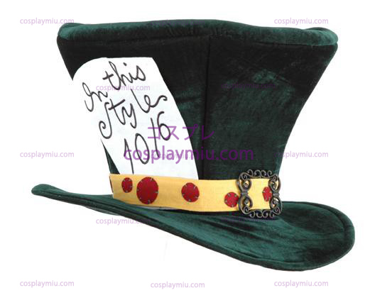 Alice In Wonderland The Madhatter Adult Possède