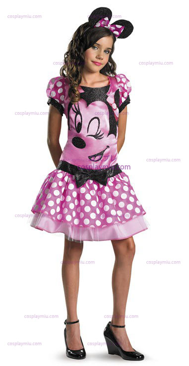 Clubhouse Minnie Mouse Pink Child Déguisements