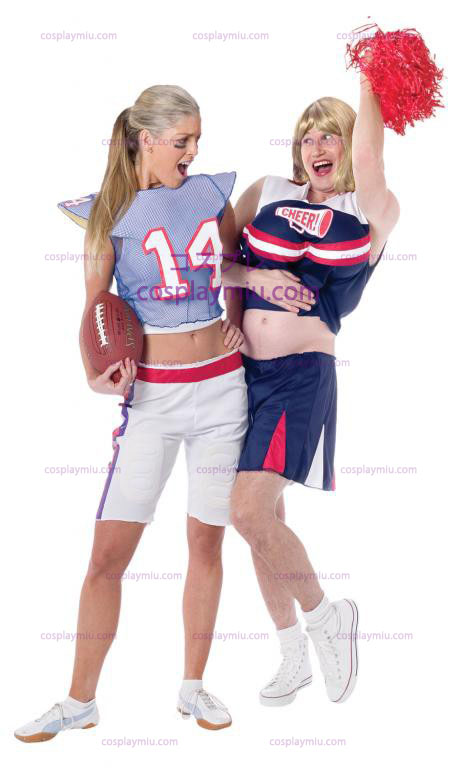 Football Player Girl Adult Déguisements