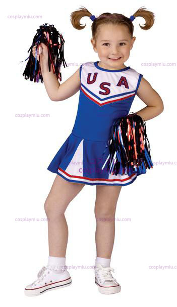 USA Cheer Toddler Déguisements