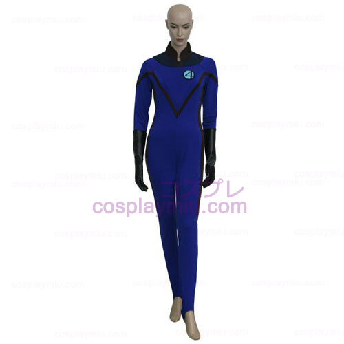 Fantastic 4 Invisible Woman Déguisements Cosplay