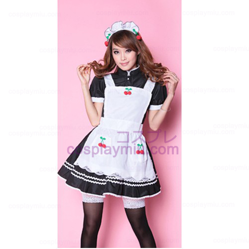 Lovely Cherry Maid outfit/Princess Skirt Maid Déguisements