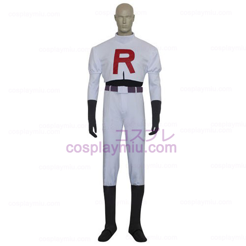 Pokemon Team Rocket James Hommes Déguisements Cosplay