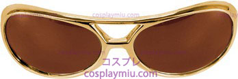 Lunettes Rock\&Roller Gold Brown