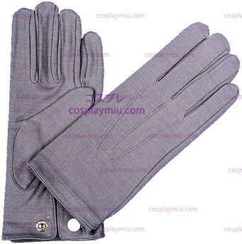 Gloves Nylon W Snap Hommess Grey