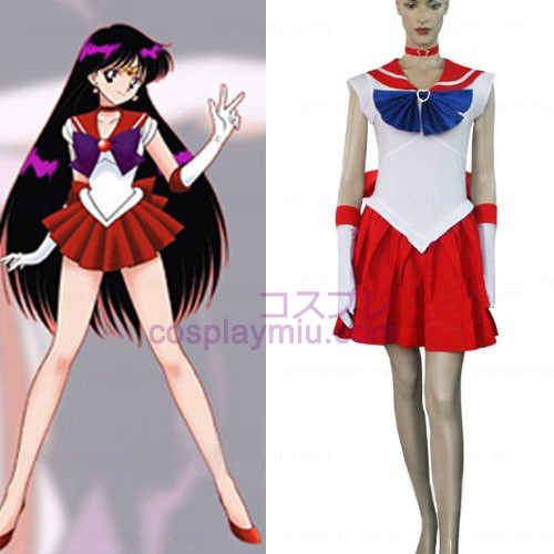 Sailor Moon Sailor Mars Raye Hino Déguisements Halloween Cosplay