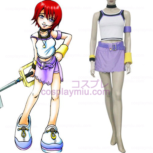 Kingdom Hearts 1 Kairi Femmes Déguisements Cosplay