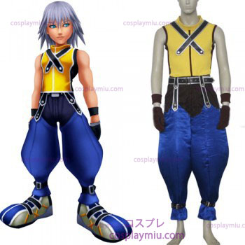 Kingdom Hearts 1 Riku Hommes Déguisements Cosplay