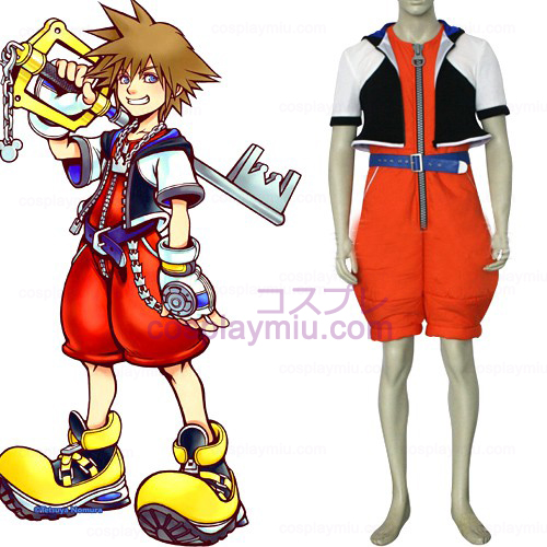Kingdom Hearts 1 Sora Hommes Déguisements Cosplay