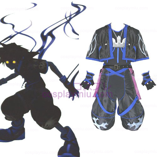Kingdom Hearts 2 Anti Sora Hommes Déguisements Cosplay