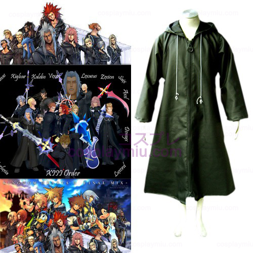 Kingdom Hearts 2 Organization Xiii 13 Déguisements Cosplay