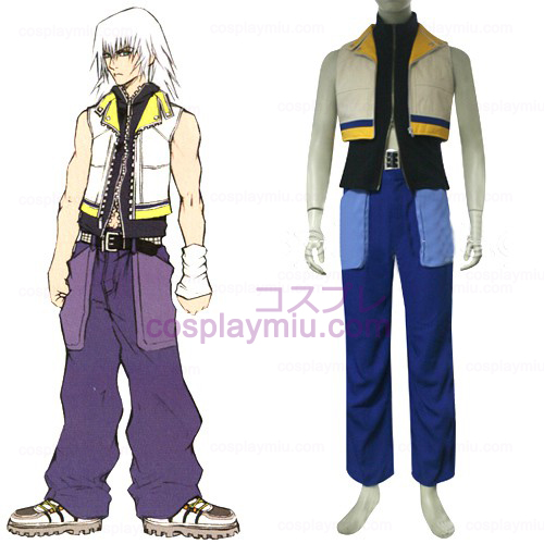 Kingdom Hearts 2 Riku Hommes Déguisements Cosplay