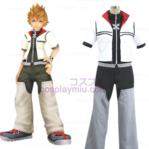 Kingdom Hearts 2 Roxas Hommes Déguisements Cosplay
