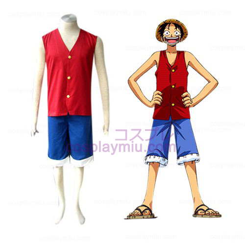 One Piece Luffy Déguisements Cosplay