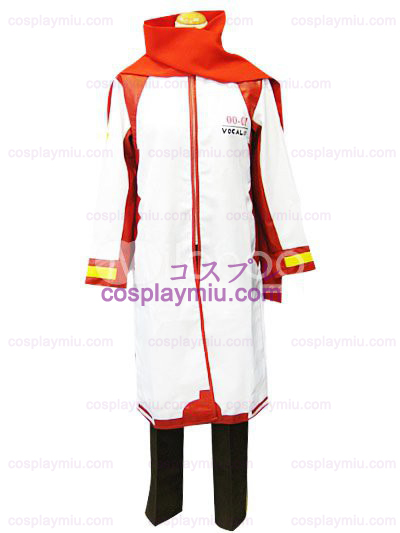 Vocaloid Akaito Red and White Déguisements Cosplay