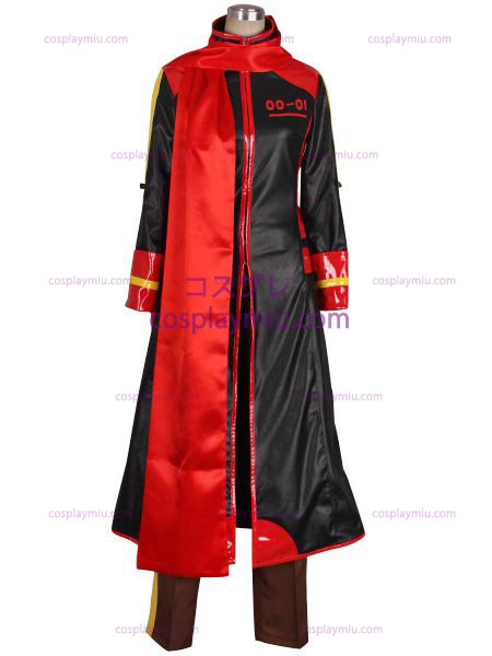 Vocaloid Akaito Red and Black Déguisements Cosplay