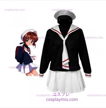 Cardcapture Sakura Tomoe Primary School Girls Déguisements Cosplay