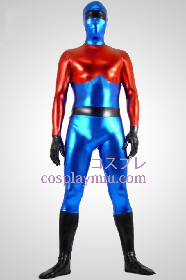 Optimus Prime métallique brillant Zentai Suit Superhero