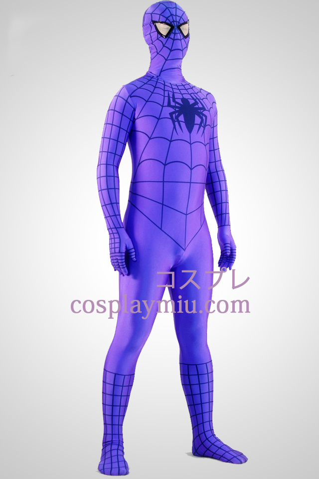 Pourpre Costume Spiderman Zentai Superhero